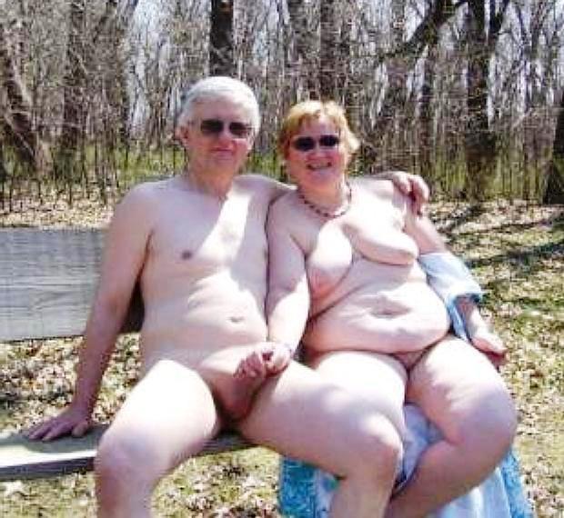 Mature senior nudist couples sex