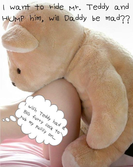 girl teddy bear humping Nude