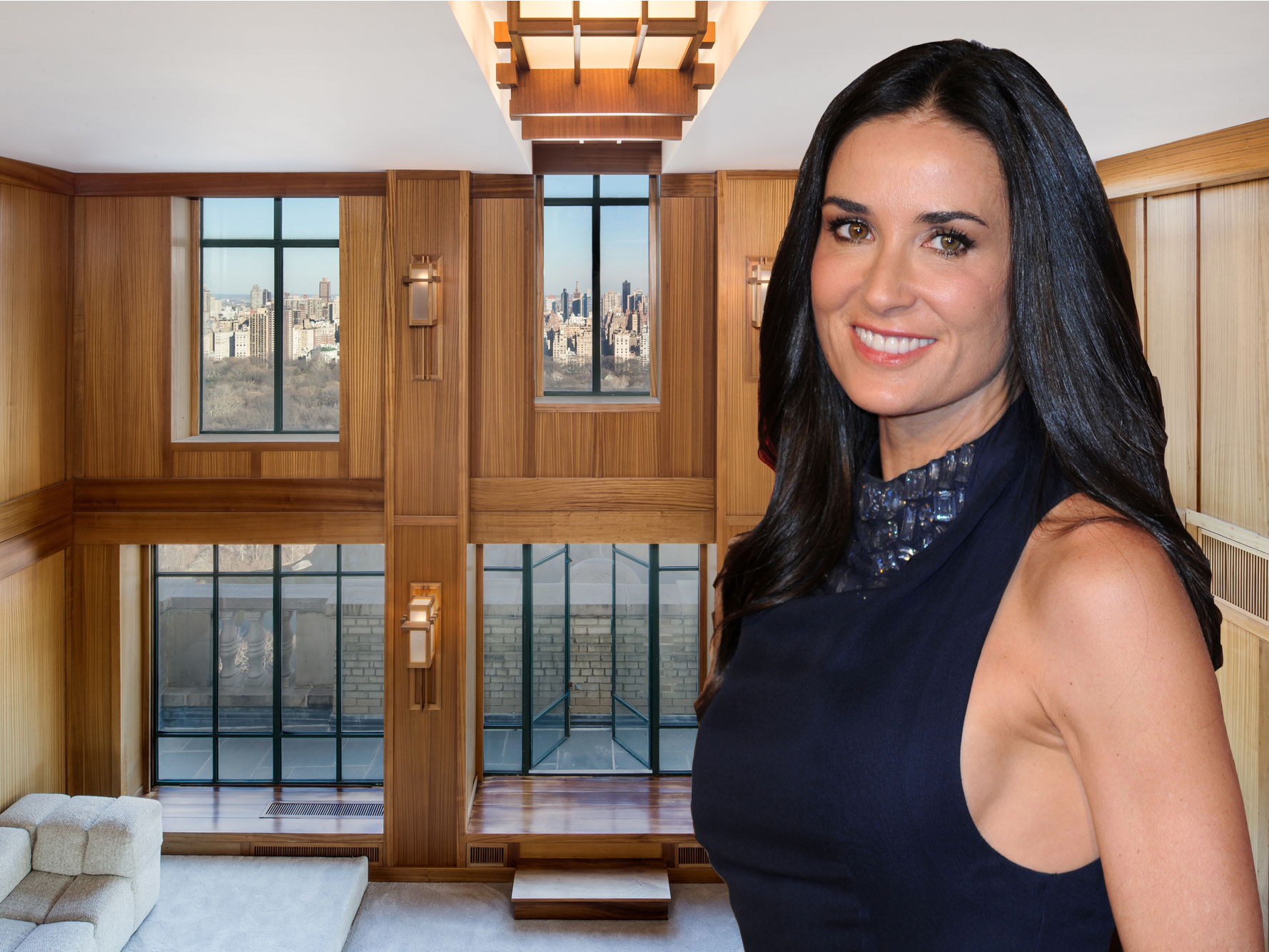 Demi moore penthouse