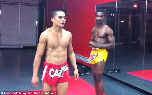 Muay thai boy nude