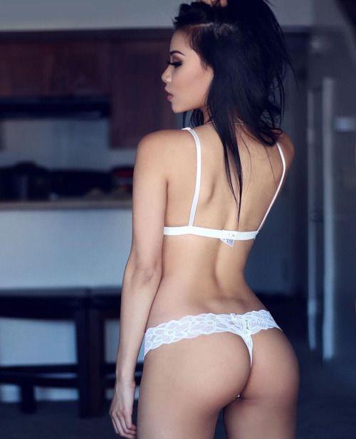 Asian girl thong bikini