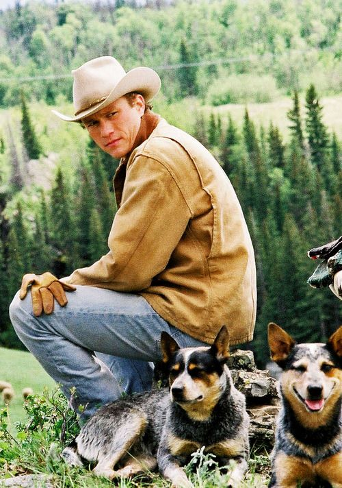 Heath ledger brokeback mountain
