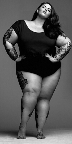 Black plus size women models
