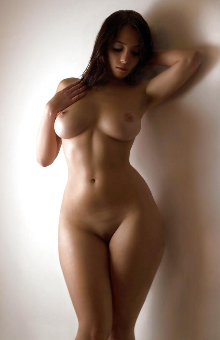 Perfect curvy woman body nude what