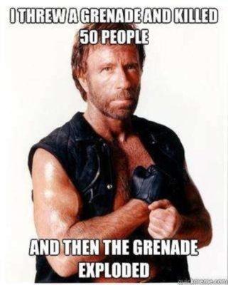 Chuck norris meme