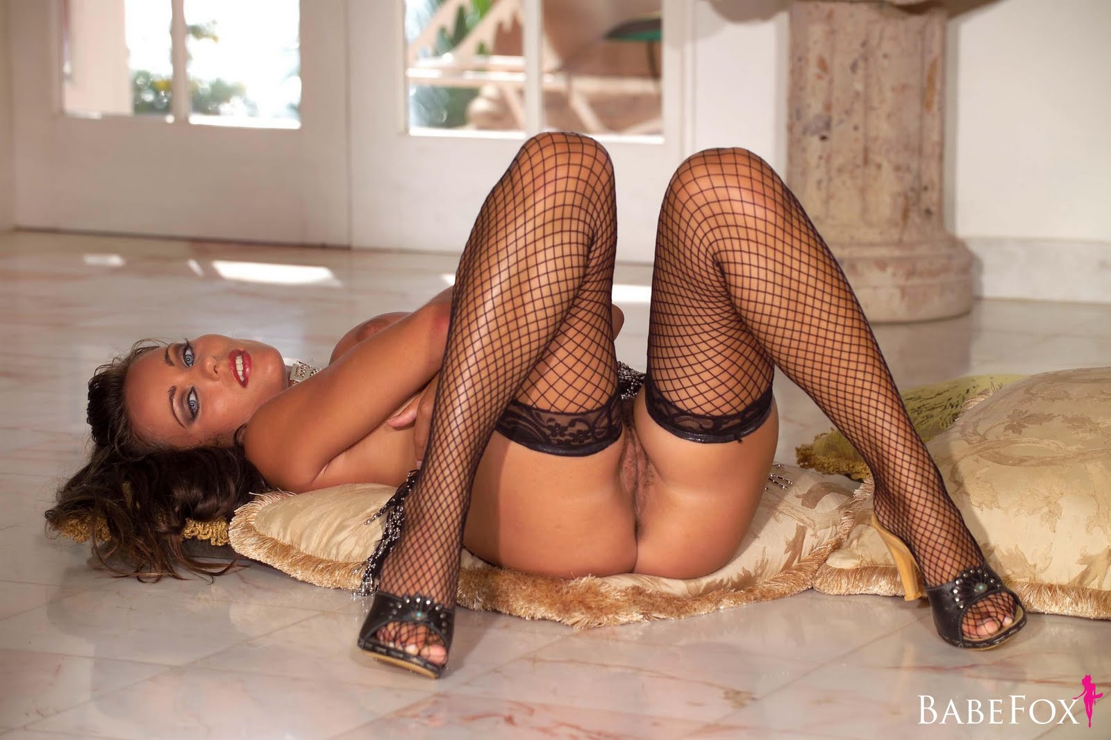 Kyla cole fishnet