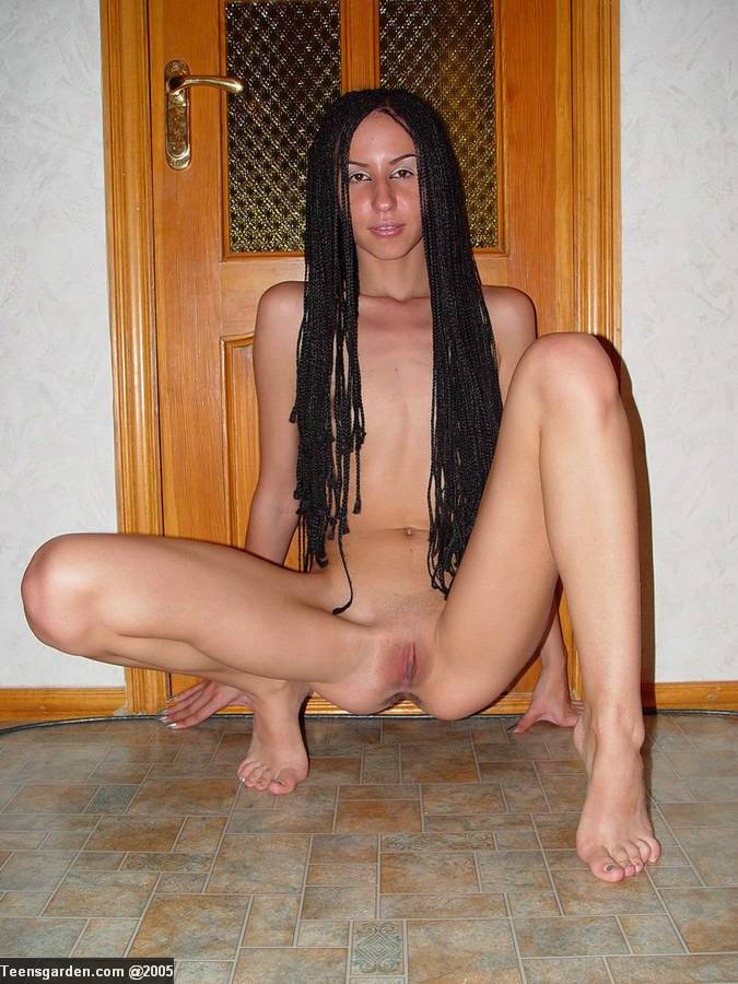 shaved Skinny pussy tight