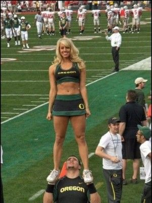 Have removed Oregon ducks cheerleader porn are