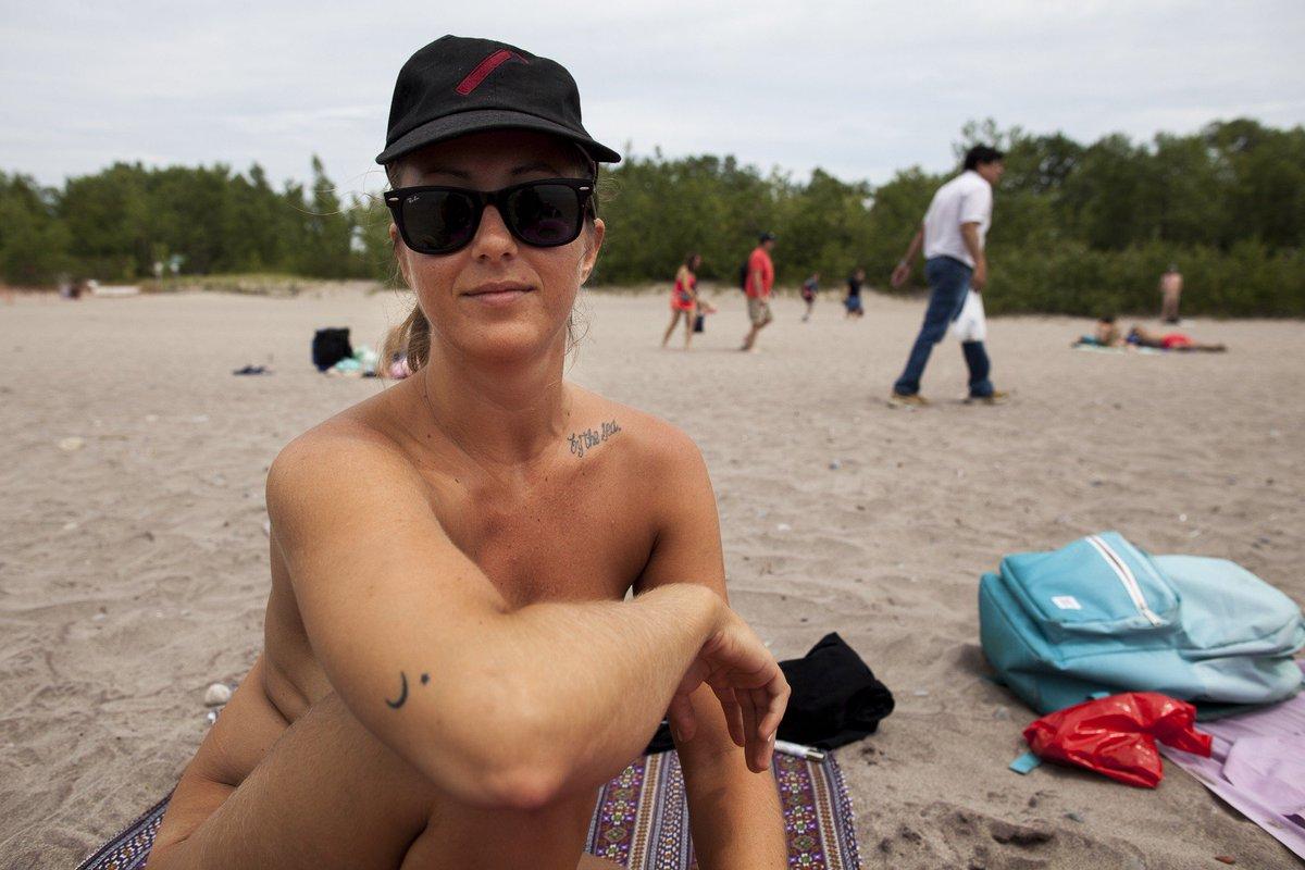 Nude beach lifeguards naked