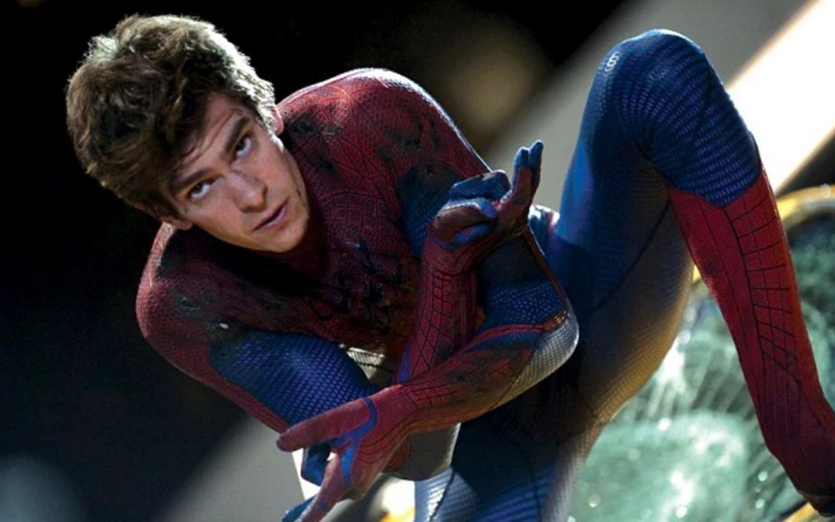 as Andrew man garfield spider