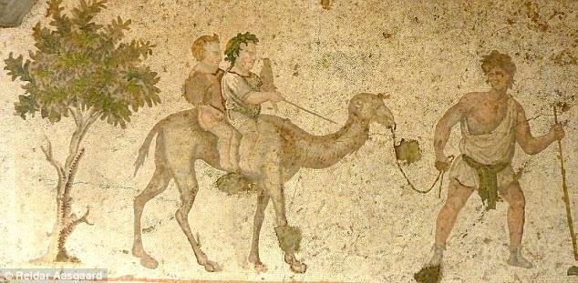 Girl nude ancient roman slave