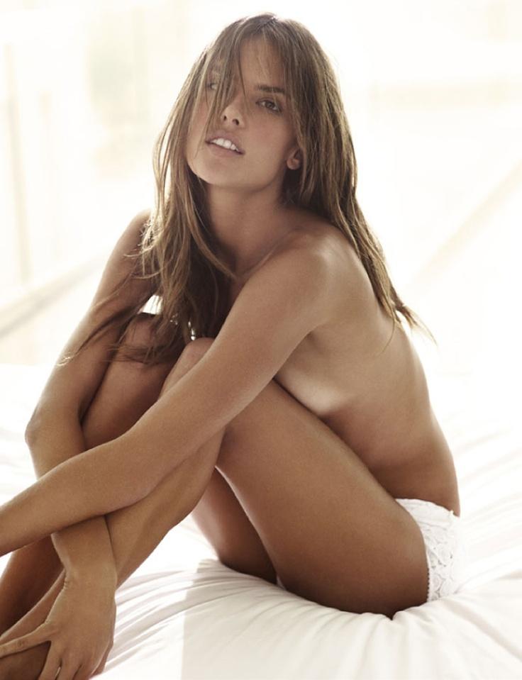 Sexy woman posing nude