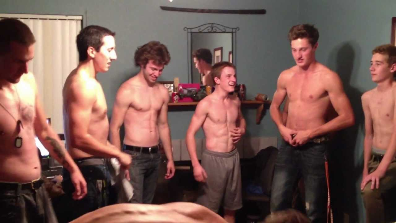Straight guy naked boy