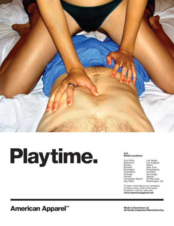 American apparel controversial ad