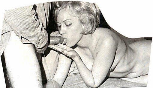 Classic vintage retro oral sex