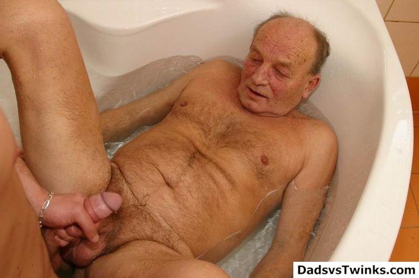 Free gay porn old men
