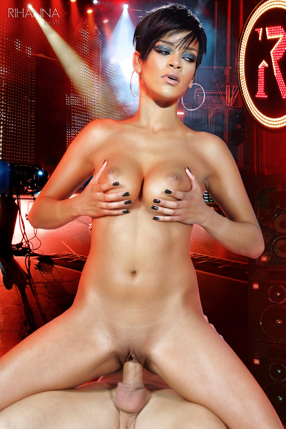 Doubt. hot rihanna fake nude think