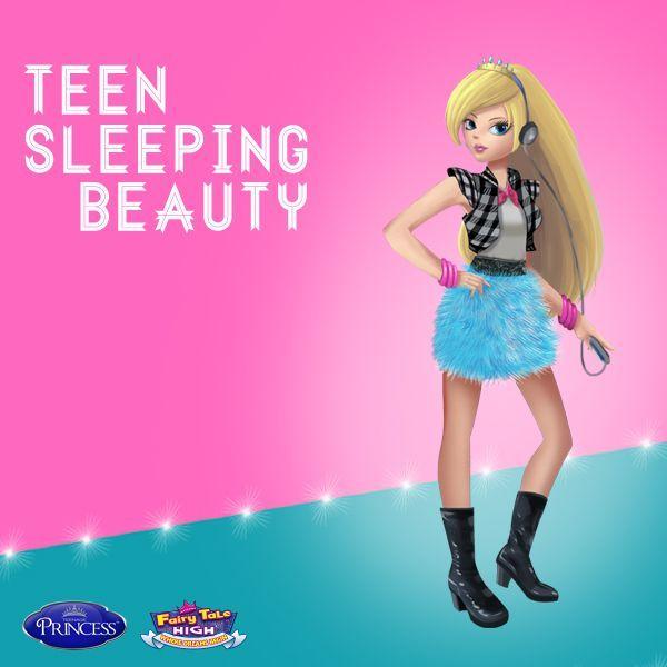 Teen sleeping beauty
