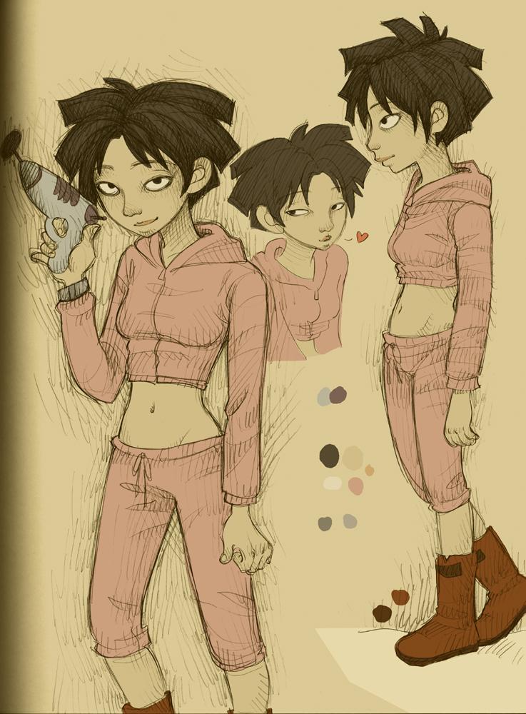 Futurama amy wong anime
