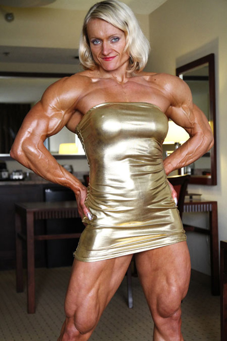 Mature female muscle nude muscular women