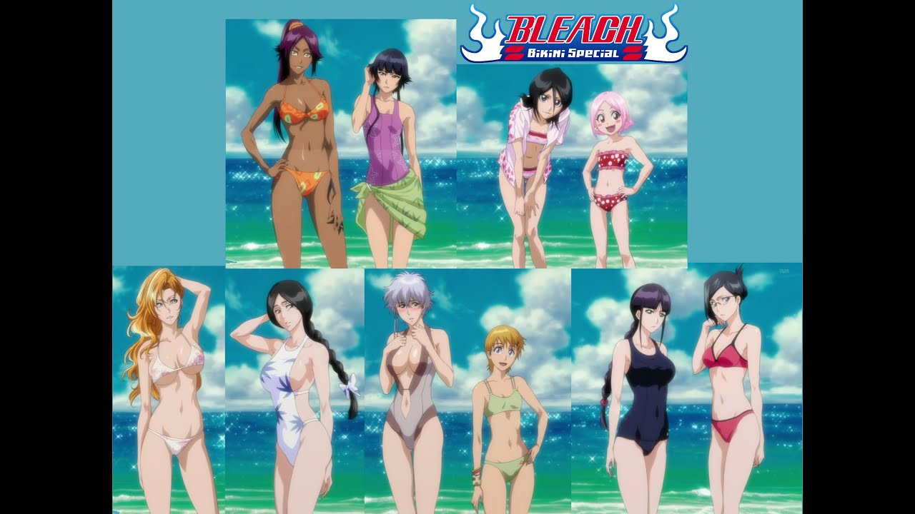 Bleach girls swimsuit