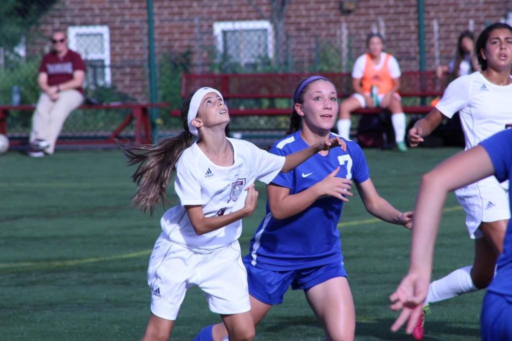 Hot girls soccer team