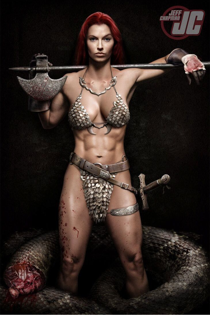 Spartan female warrior porn
