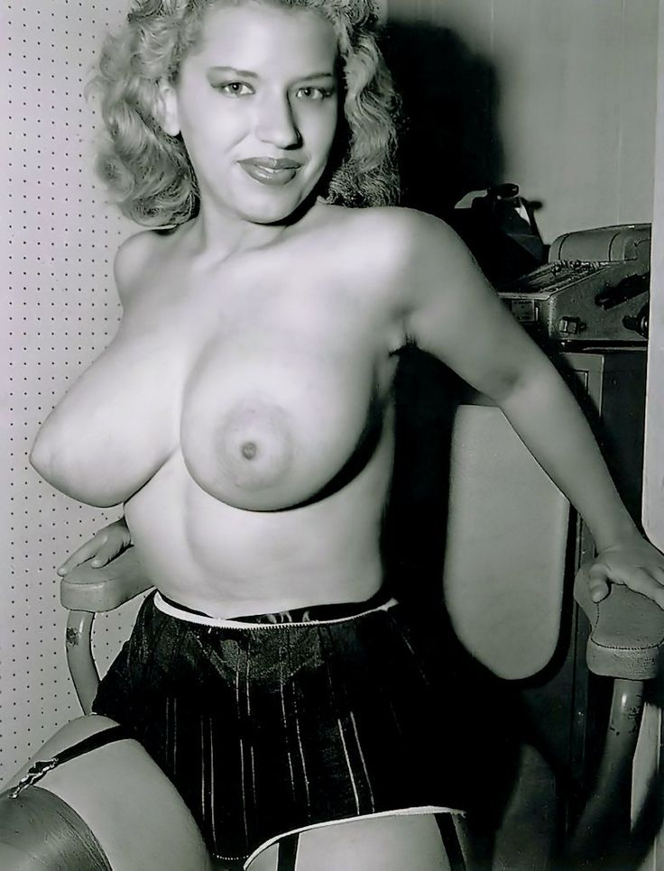 Vintage black women with big tits