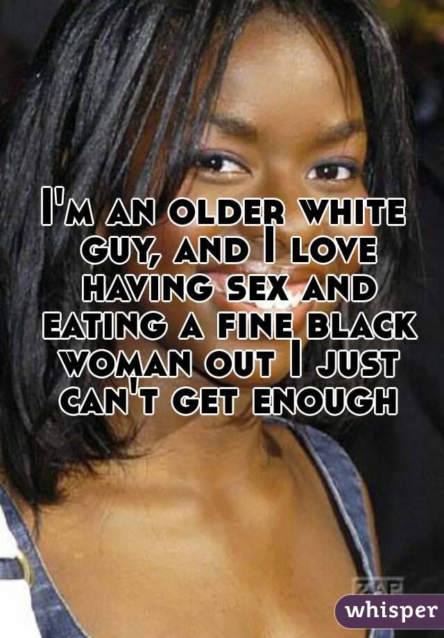 Black women white men eating