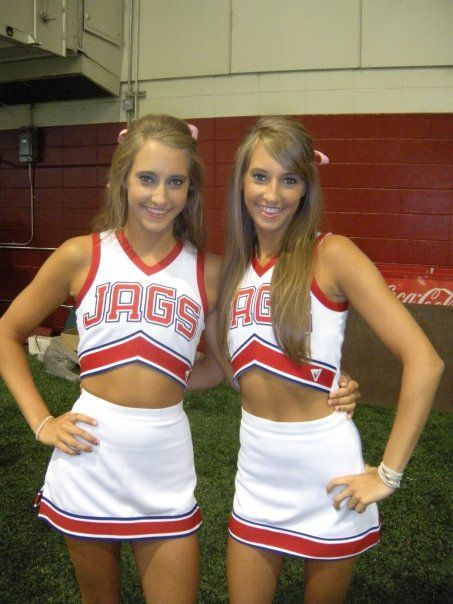 South alabama triplet cheerleaders