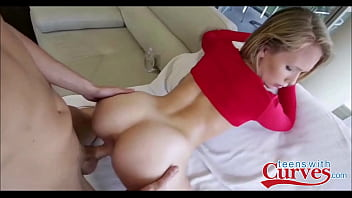 Nice ass blonde fucked hard