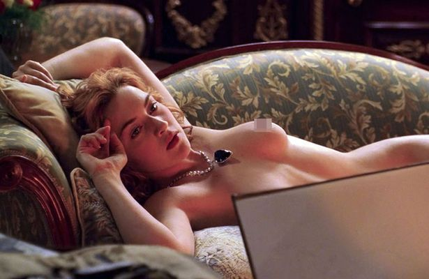 Kate winslet titanic nude drawing