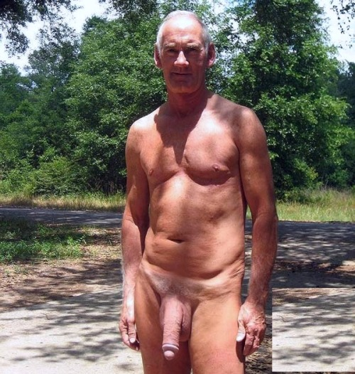 cock with Naked big old gay men