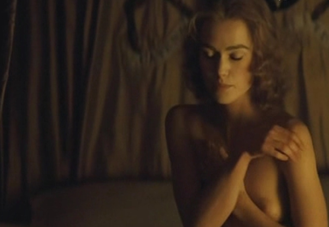Have keira knightley nude movie apologise, but