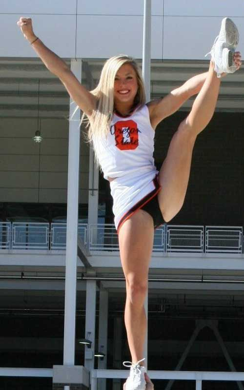 Hot naked college cheerleaders sex