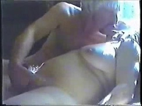 Old granny playing with cock