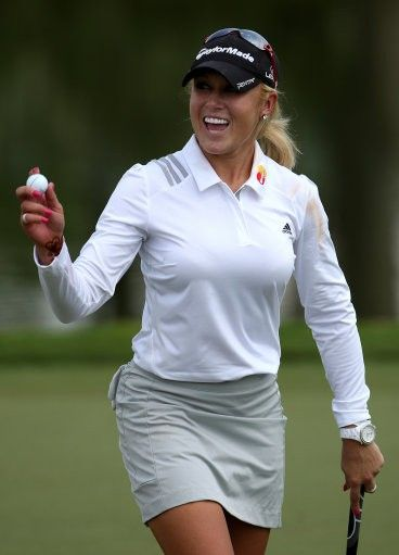 Natalie gulbis body paint nipple