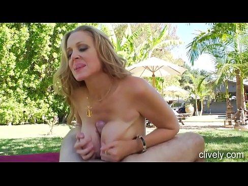 cock milf Big blonde tits huge