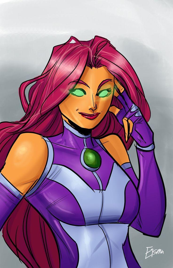 Teen titans starfire dc comics