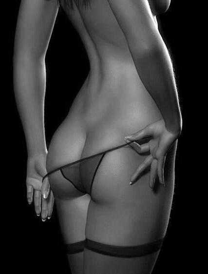 Erotic nude art panties