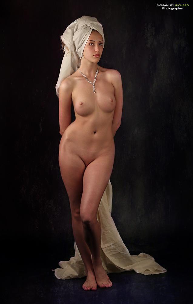 Indian nude art model