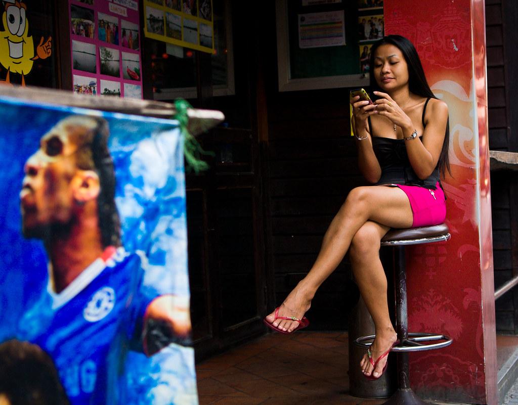 Asian thai bar girls