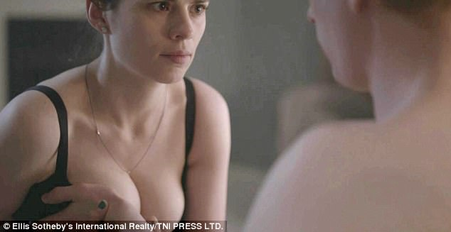 Reluctant nude scene