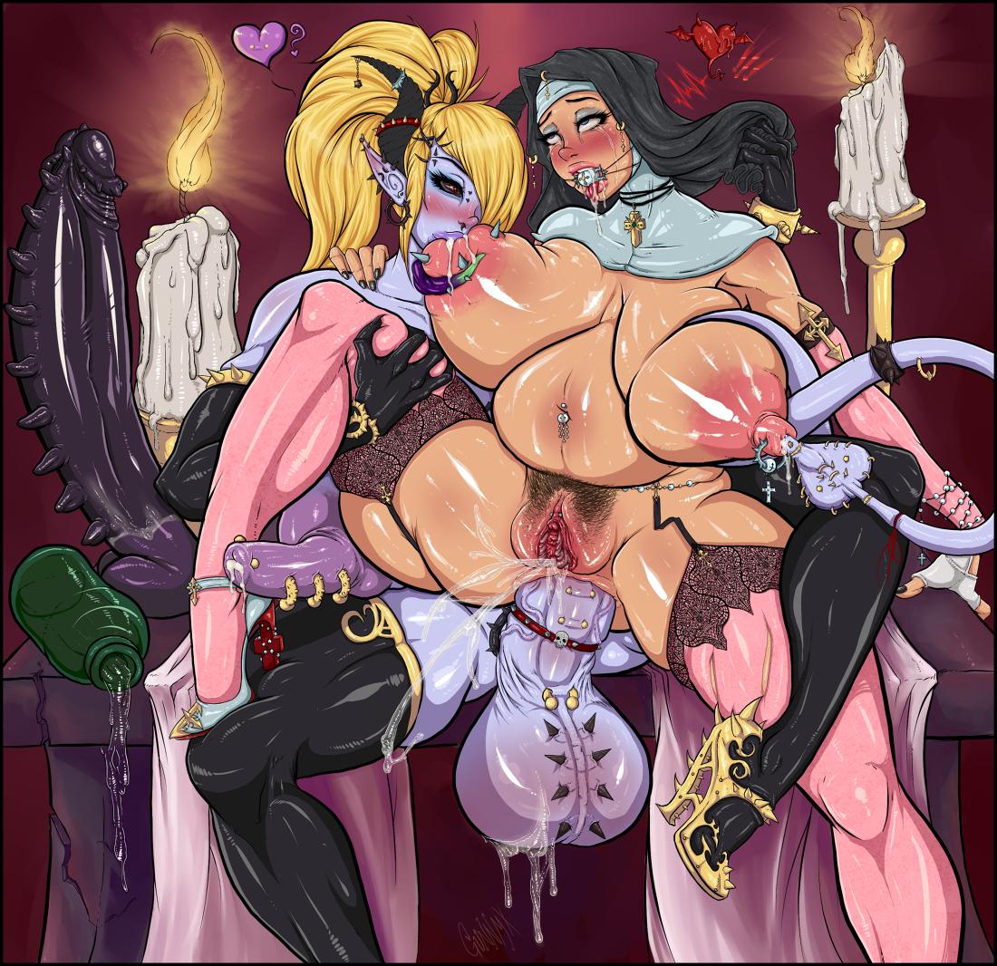 Hentai shemale nun porn