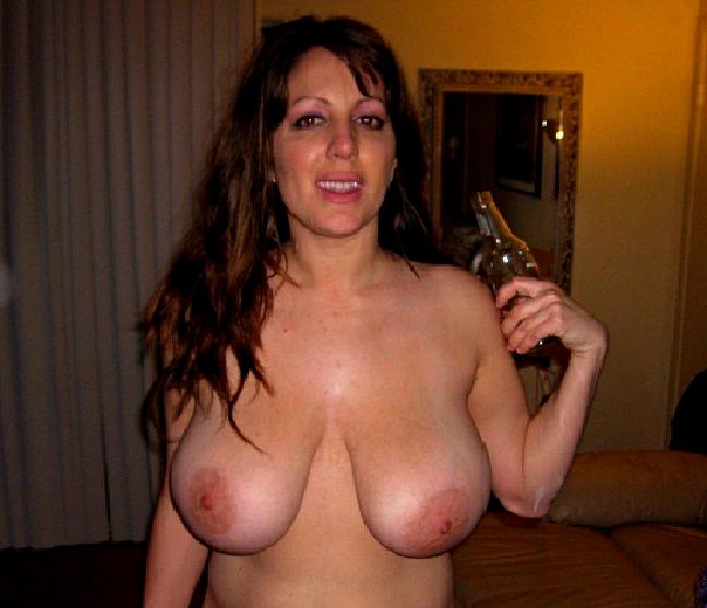 Drunk naked moms