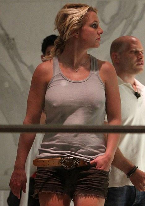 Britney no nude underwear apologise