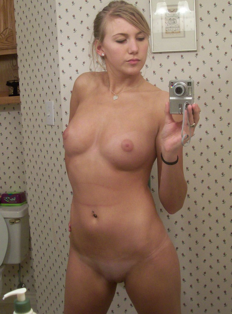 Slightly chubby girls nude