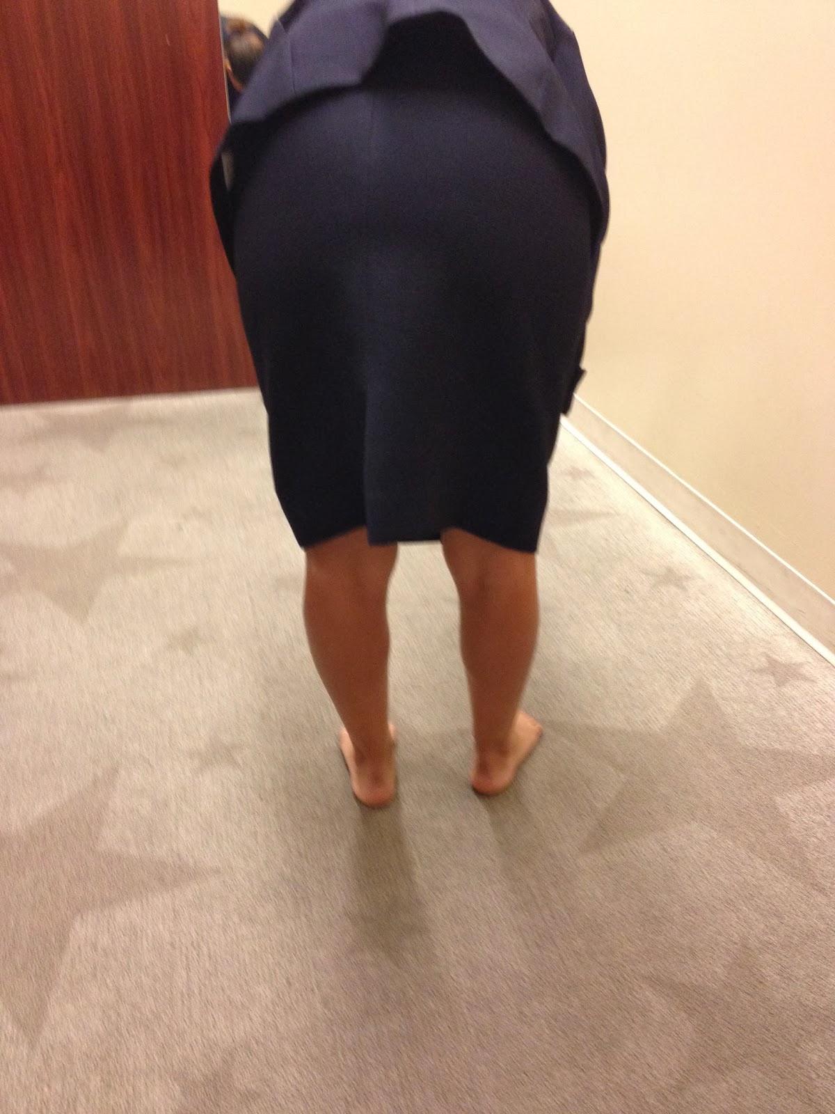 Public girls in skirts bending over