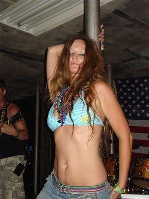 Oklahoma biker rally bikini girls