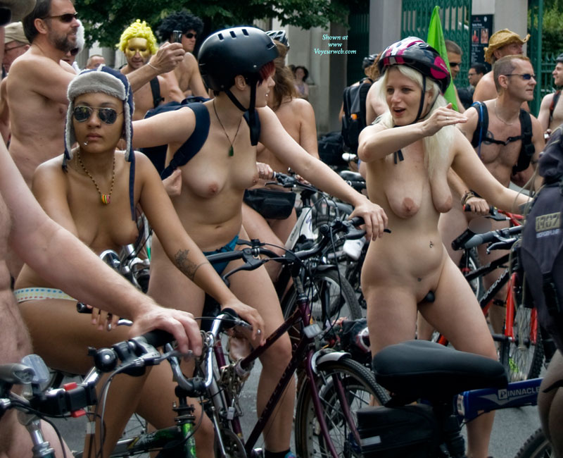 World naked bike ride nude